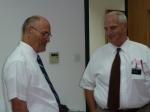 Pres. Chapman and Elder Jacobsen